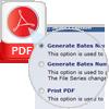 Options to Add PDF Bates