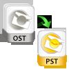 Batch OST to PST