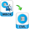 Mac MBOX Conversion to EML or PST