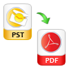 PST to PDf File Export