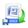 Save Recovered DOCX File