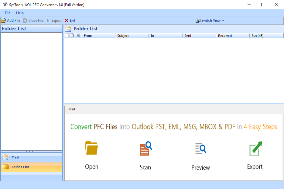 export aol mail to outlook